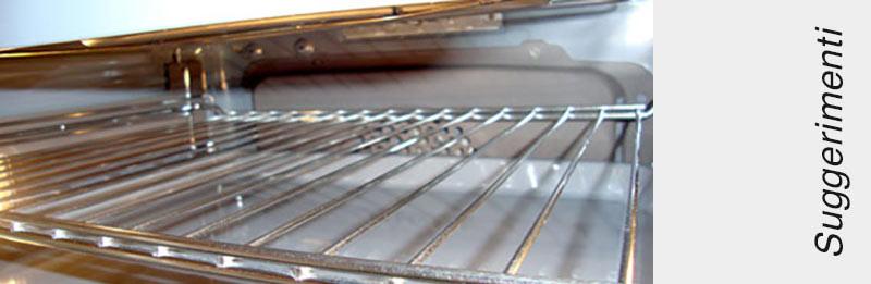 Immagine interno di un forno