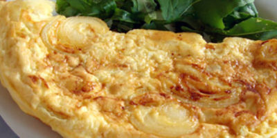 omelette alle cipolle