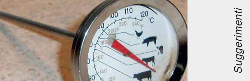Un tipo di termometro da forno