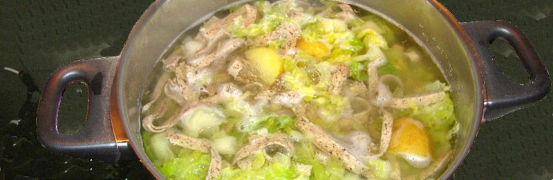 pizzoccheri con verza e patate, una ricetta tradizionale.