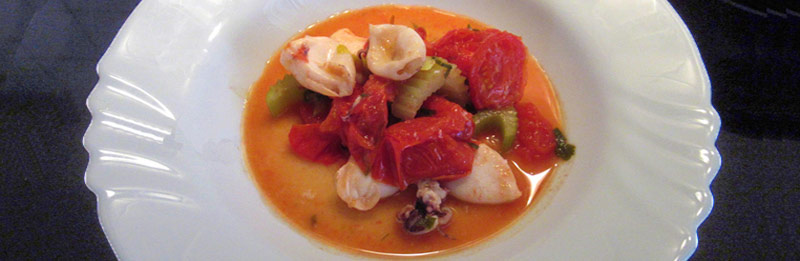 Clamaretti e pomodorini per pasta