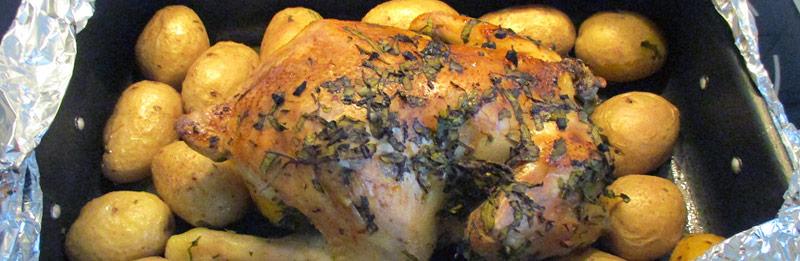Pollo con il limone, ricetta light