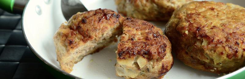 Polpette di carne macinata e tofu