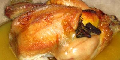 Croccante pollo al forno