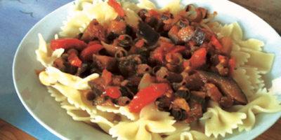 Un bel piatto di spaghetti alla siciliana