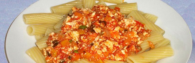 Ragù di tofu e verdure