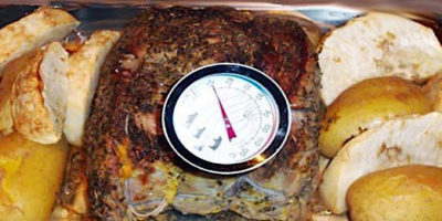 Roast beef intero con patate