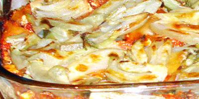 Ecco le lasagne ai finocchi