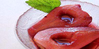 Pere pronte nel piatto