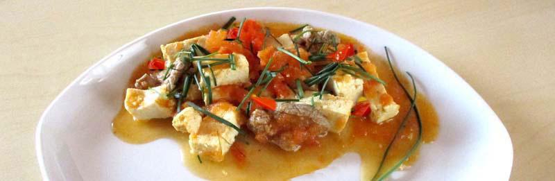 Ecco il tofu a modo mio