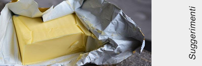Pannello di burro